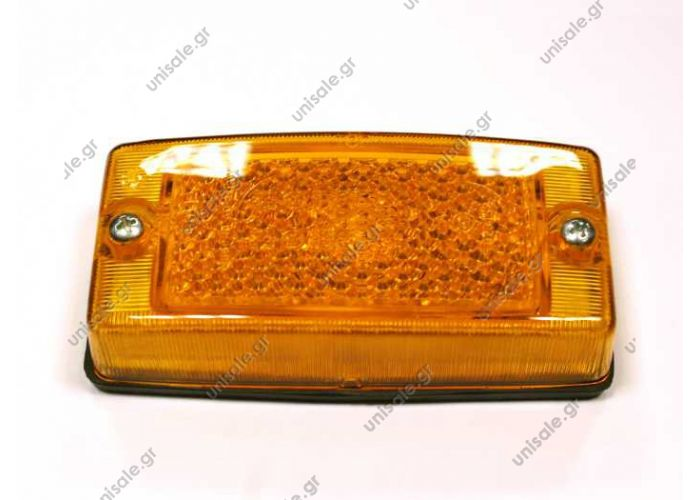 TYPE: SIDE MARKER LAMP  193 906 320 2PS 004361-001 Hella Zijmarkerkingslamp