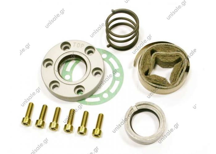 240175105 24.01.75.105  ΣΤΥΠΙΟΘΛΙΠΤΗΣ  BOCK    FRONT SHAFT SEAL KIT FOR BOCK FKX40/FKX50  24.01.74.672 Kit Floating Ring Seal Bock FKX 40. (80023)  OE: 0001300832 - 200170 - 240174672 - 50750 - 68982A - 80023 - 8817050000100 - A0001300832 - H13003528