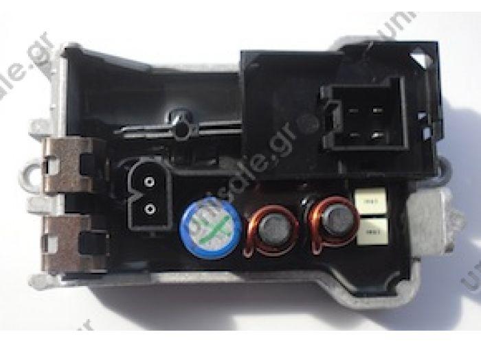 81.25601.0026 MAN  81.25601.0026 (81256010026 5HL351029-061 – BEHR HELLA, Ρυθμιστής ανεμιστήρα θαλάμου επιβατών Man TGA ),  Resistor, interior blower DT 3.82095 (382095), Resistor, interior blower   Resistor, interior blower    Art. No. 3.82095
