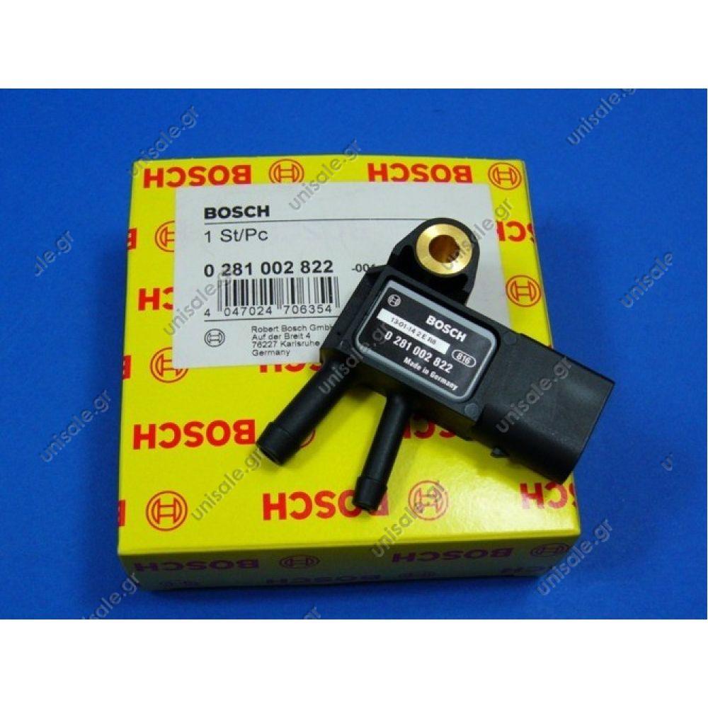 0281002822 DPF exhaust pressure sensor BOSCH Application