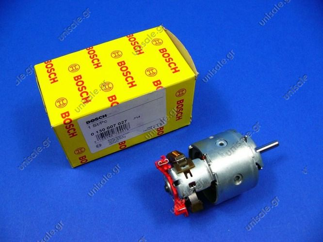 0130007027  Electric motor. Blower 12V / 28W Application: Mercedes Bus 207-210, 307-310, 407-410