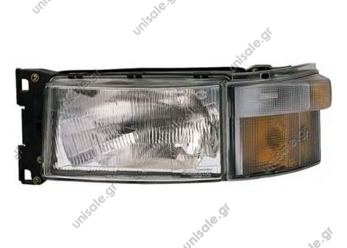ΦΑΝΟΣ ΕΜΠΡΟΣΘΙΟΣ SCANIA 4  [1EG007150091-101]   1EG 007150-091 Hella Headlight Scania 4 Series Links  [1EG007150091-101] Hella headlight left Scania 4 Series OE: 1446587 + 1385410, 1732509 + 1385410, 1467000 + 1385410, 1431257 + 1385410
