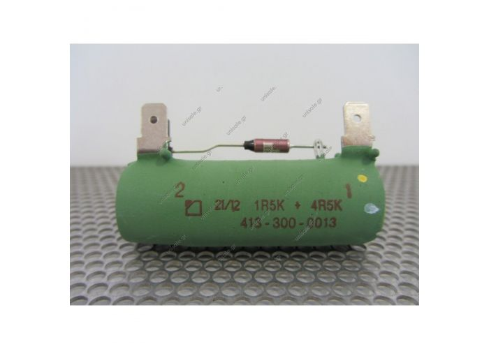 413-300-0013 AURORA THE RESISTOR 6 ON 1,5U MTS-192 DEGREES C. 413-300-0013 Aurora Resister AURORA Resister 24v for DRG Blowers Part No: 413-300-0013   Details  Resistor 6/1.5 MTS=192°C