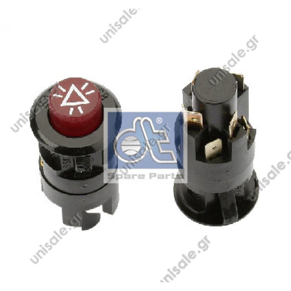 HELLA 6HF 001 579-011 Hazard Light Switch Fitting
