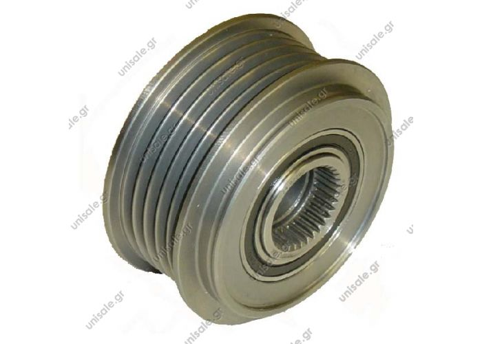 RML REF 500-424 Product Type:	Clutch Pulley Product Application:	Toyota / Lexus Replacing F-570753 Cargo 236332 332310 Woods EC4035 Denso Toyota/Lexus Clutch Pulley