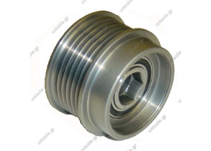 RML Ref 500-428  ACP176 PULLEY CLUTCH ALTERNATOR JEEP Cherokee 2.8 CRD II 2.5 01 onwards  Product Type:	Clutch Pulley Product Application:	American Vehicles Replacing 04861501AB Woods EC4387 EC47600 Cargo 235794 Denso Chrysler Clutch Pulley