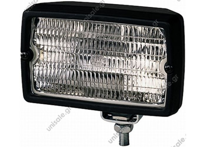 1GA 005060-001 Hella Worklight Hella work lamp 153x93 mm  Working light rectangular H3  1GA005060001 Work lamp Hella