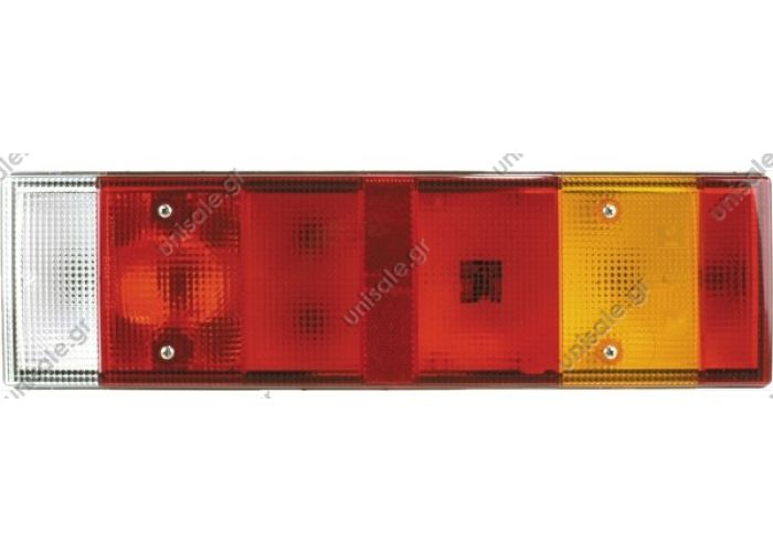 LC7 K4 M01D Vignal DAF Rear Right Vignal rear lamp for DAF right with side marker TAIL LIGHT REAR VIGNAL LC7 for Renault Truck 5001847586 (Lateral connector)