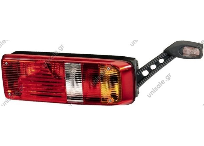 2VP 340930-107 HELLA Πίσω φως δεξιά    Hella Rear Right Hella rear lamp right with hanging lamp