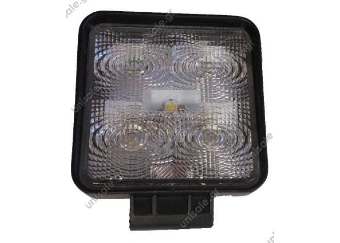 587 115 Work Lamp LED 9-36V High Power LED Square Work Light