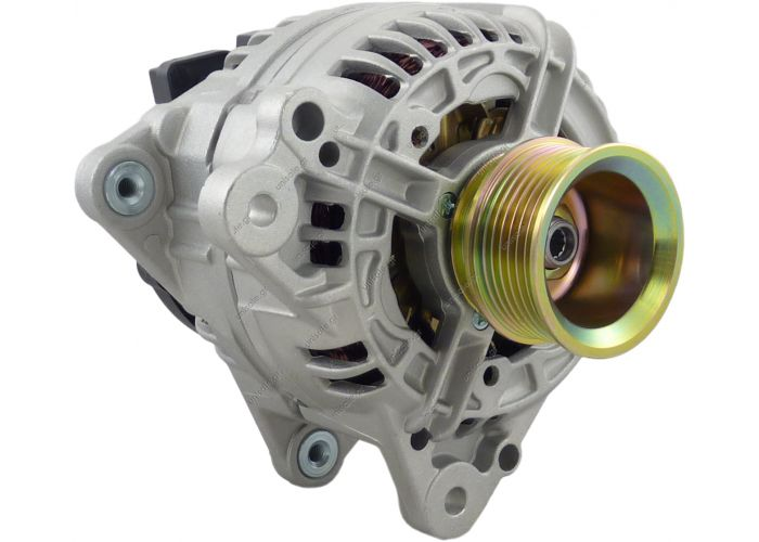 VW-120A AL-148 New Alternator 0-124-515-057 2.8L Golf Jetta 1999-2004 13904 12V CW 120A 7 groove pulley negative polarity   Bosch 0124515011, 0-124-515-057  Delco 334-1436  Lucas A6884  Volkswagen 021-903-025K, 038-903-018B, 074-903-025N