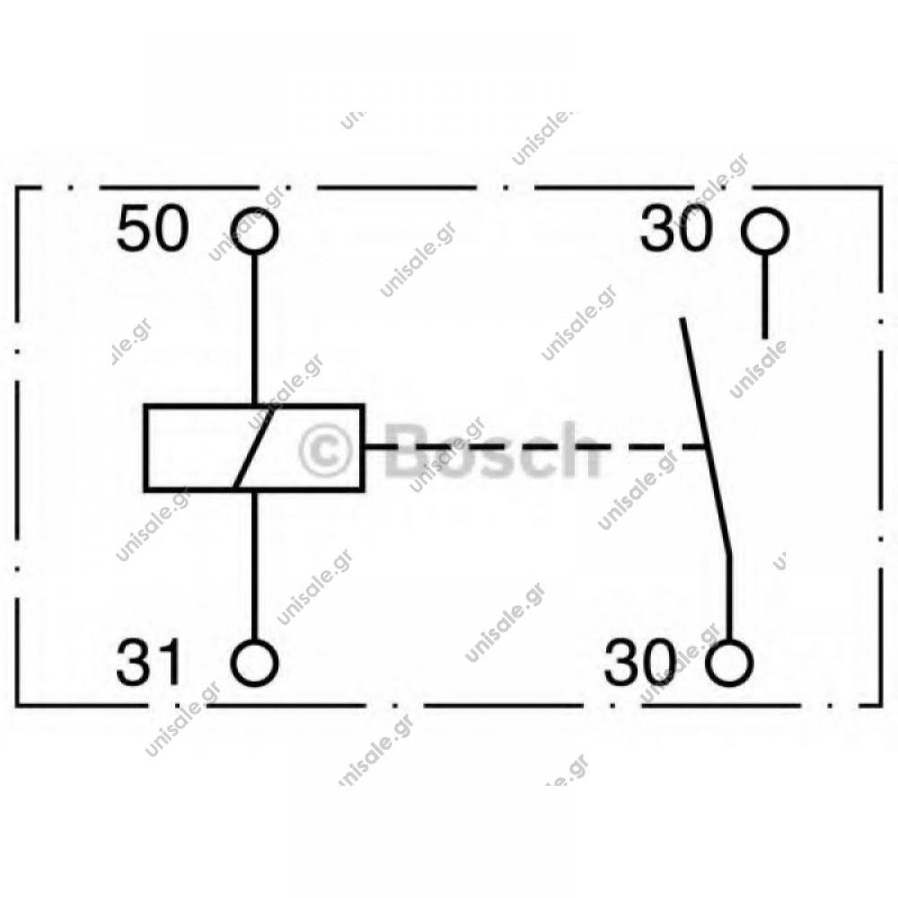 1226 bosch power relay 24v 150  1000a 1sec bosch ip54