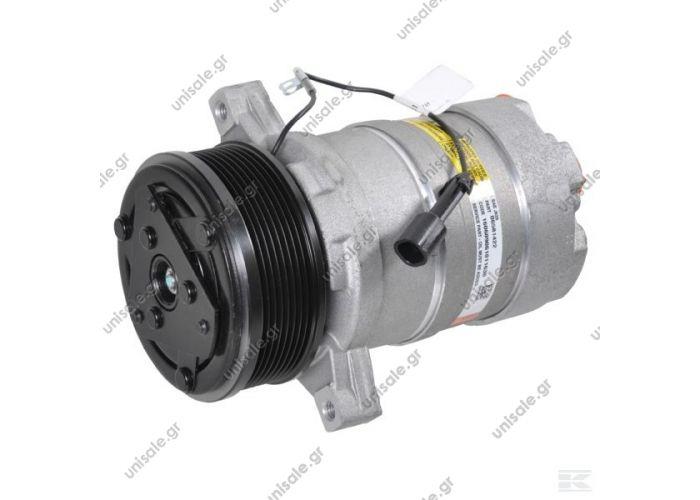 40420057  Compressors > Standard > Harrison Compressor Delphi (harrison) OEM TYPE : HR6      HD 6 PAD Horizontal KL000126 Compressor Harrison HR6   Corresponding OEM codes: ER198334 ER199558