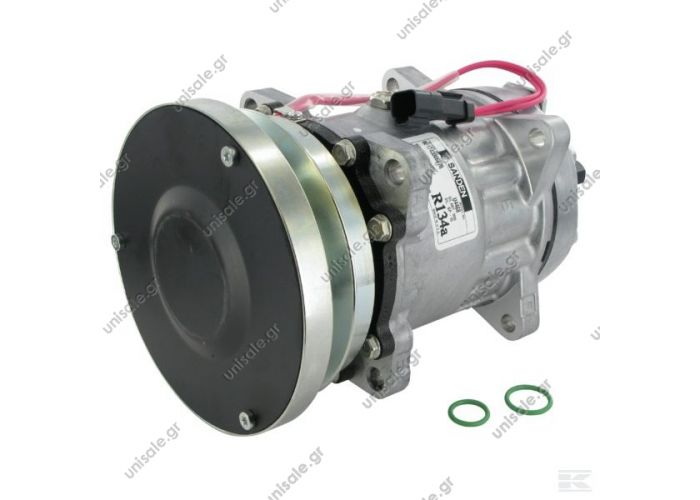 40405144 COMPRESSOR,SANDEN,4604-7H15 24V 140mm 1-A, R134a REAR GM PAD STEEL ARMATURE,D/C CAT     CATERPILLAR : 3E1909, 3E-1909, 1065122, 106-5122    1065122 - 4479 - 4640 - 4658 - 8058 - 8066 - 8109