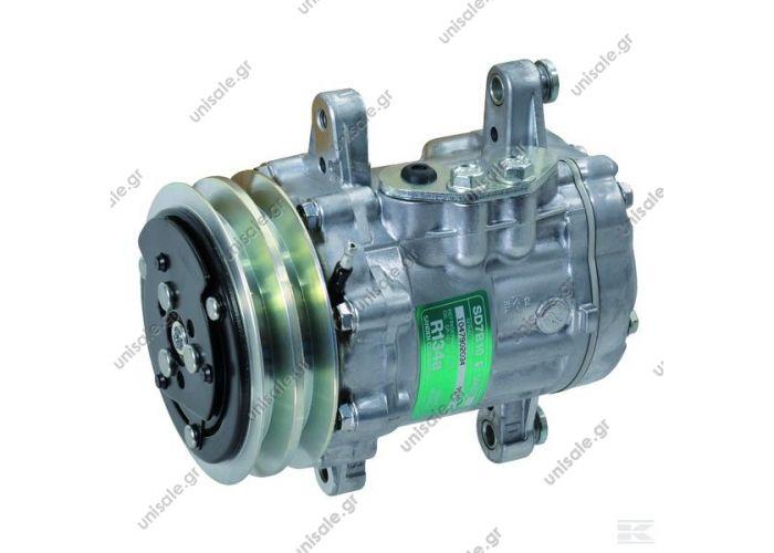 40405046  SD7B10 (7170) V PAD 115/A2     SD 7B10 PB7170 12V 2G A TypeSanden 7B10 Volume (cc)100 Ø (mm)115 Voltage (V)12 Pulleytype2 G - A    COMPRESSOR,SANDEN,7170A-7B10 12V 100MM 2-A, R134A PAD R/H SIDE
