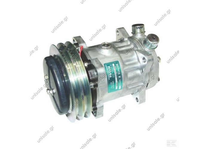 "SCANIA 143 40405075  SANDEN   SD 7H15 OR Vertical 24V 5""1/4 Ø132mm 2G A OE: 11007314 - 11058974 - 12304998 - 1303484 - 1593151 - 8061 - 8113622 - 8113627 - 8150135 - 8150136 - 8239 - 834290 - 99704600 - B13AC1204 - H13001204"