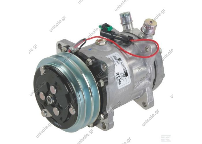 "40405003CP  4652   ΣΥΜΠΙΕΣΤΗΣ   ΚΟΜΠΡΕΣΕΡ SANDEN SD7H15    COMPRESSOR SANDEN FIX R134A SD7H15  Compressor - Sanden     SE 7H15 OR Vertical 24V 2G A  12304999 - 1433064H91 - 4652  SD 7H15 OR Vertical 24V 5"" Ø125mm 2G A"