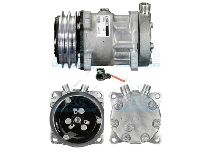 1593151 VOLVO 1593151, Compressor, air conditioning   40405075CP VOLVO F12 OE: 11007314 - 11058974 - 12304998 - 1303484 - 1593151 - 8061 - 8113622 - 8113627 - 8150135 - 8150136 - 8239 - 834290 - 99704600 - B13AC1204 - H13001204