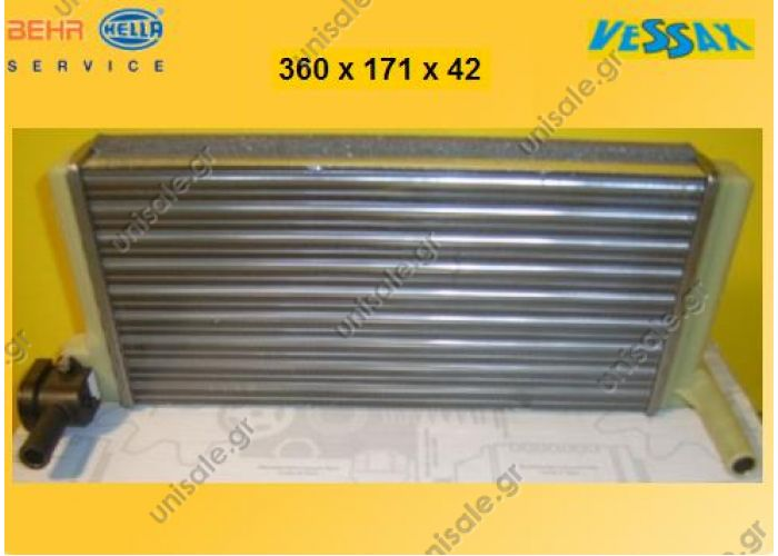 ΨΥΓΕΙΟ ΚΑΛΟΡΙΦΕΡ MERCEDES 44 SK   002 835 08 01 (0028350801   MERCEDES A0028355701 Heat Exchanger, interior heating BEHR HELLA SERVICE 8FH 351 312-311 (8FH351312311), Heat Exchanger, interior heating  MERCEDES NG	1973-1996 SK	1987-1996