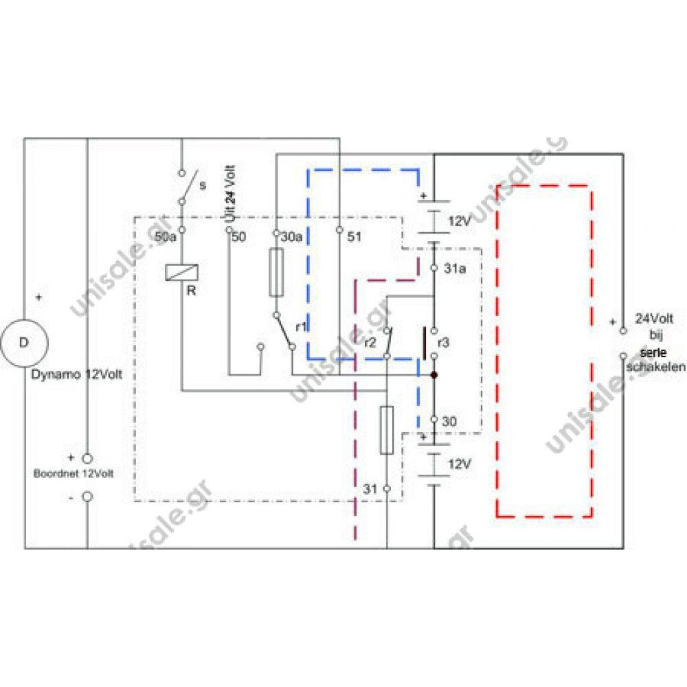 0333300003 Description Switch Starter For Man Evobus Iceco 24v Relay 12 Volt 0 333 300 003 Series Parallel New Bosch 12v 3 Terminal Battery