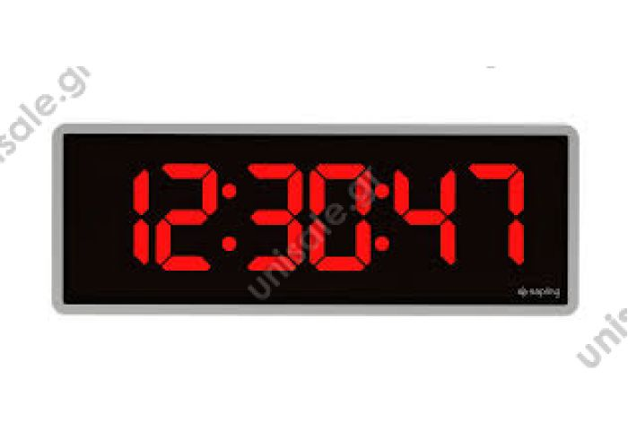 SANEL ΨΗΦΙΑΚΟ ΡΟΛΟΙ SDS313 Bus Digital Clocks Red	12 - 24V	 200 x 48 x 70	55 sec. time 5 sec. temp.