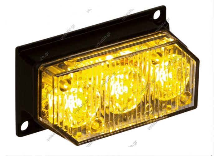 DSL-3SN ΦANOΣ ANAΛΑΜΠΗΣ ΤΥΠΟΥ LED 10-30V 33 MOTIΒΑ ΑΝΑΛΑΜΠΗΣ DSL-3SN Description:REF. NO. DSL-3SN ... A.  Κίτρινα LEDs B.  Μπλε LEDs R.  Κόκκινα LEDs W.  Άσπρα LEDs