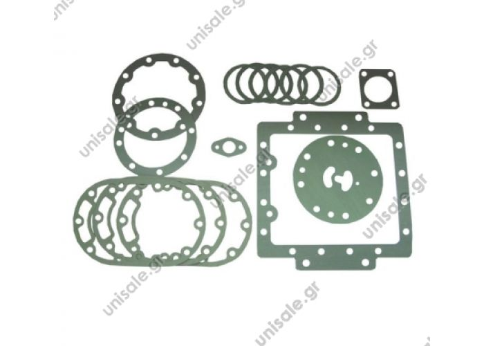 HISPACOLD 3600007 (6W600)  ΣΕΤ ΦΛΑΤΖΕΣ   Hispacold Compressor gasket kit Ref.: 3600007 for 6-cylinder 6W600 compressor