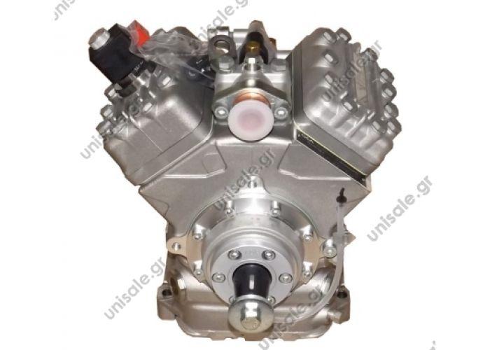 40430085 BOCK FKX 40/470K OE: 1102030B - 13988 - 21112410 - 21112430-Nr./Ref.: 11033970     BOCK A/C compressor FKX40/470K standard , w/o unloader, equipped with valves   kompresor BOCK FKX40-470 K, OEM 13988 / 240101060-45 / 2401016007