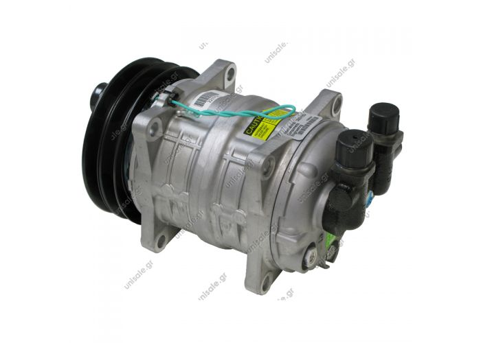 TM16EK 2A 24V With ZEXEL COMPRESSOR Compressor - ZEXEL MODEL - Clutch: 2gr, 24V Diameter: 135mm Belt Size: 1/2″ Fittings: Vertical #8 x #10 (3/4″ x 7/8″) OEM# 2521153, 488-45015