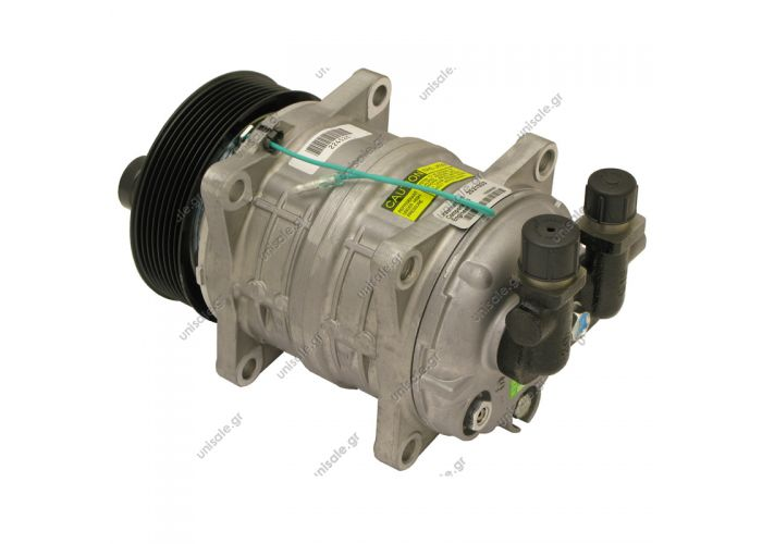 TM16 8PK ZEXEL VALEO   ΣΥΜΠΙΕΣΤΗΣ SELTEC TM16 119PV8 24V V-OR ΚΟΜΠΡΕΣΣΟΡ A/C    COMPRESSOR 12V Compressor - ZEXEL MODEL - TM16 HD OR Vertical 12V Ø119mm Poly-V 8   Compressor Carrier, 2xSPA, Cheetah AC410, 24v (TM16HS)