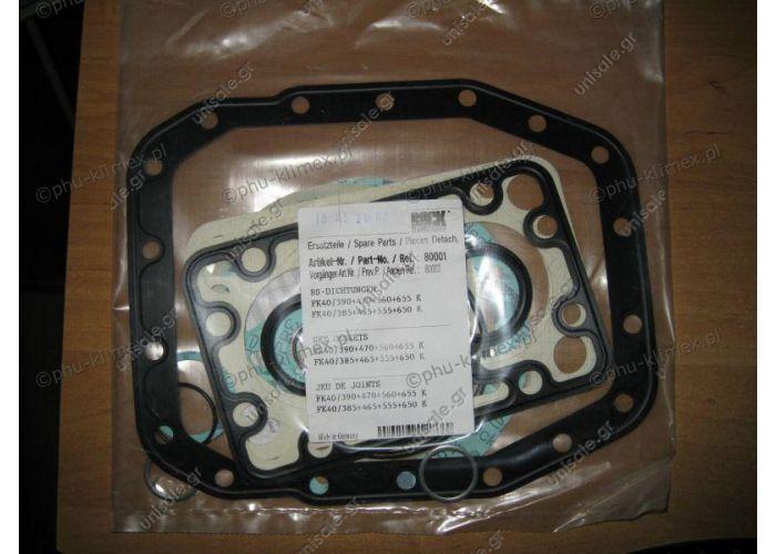 Seals compressor-compressor BOCK-GEA FK40 / 390 + 470 + 560 + 655 / K-set