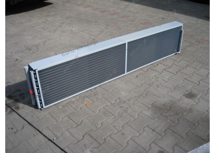 Condenser K40-10 SUTRAK CARRIER EBERSPACHER Neoplan N122 Length 1970mm height. Depth 400mm. 145mm