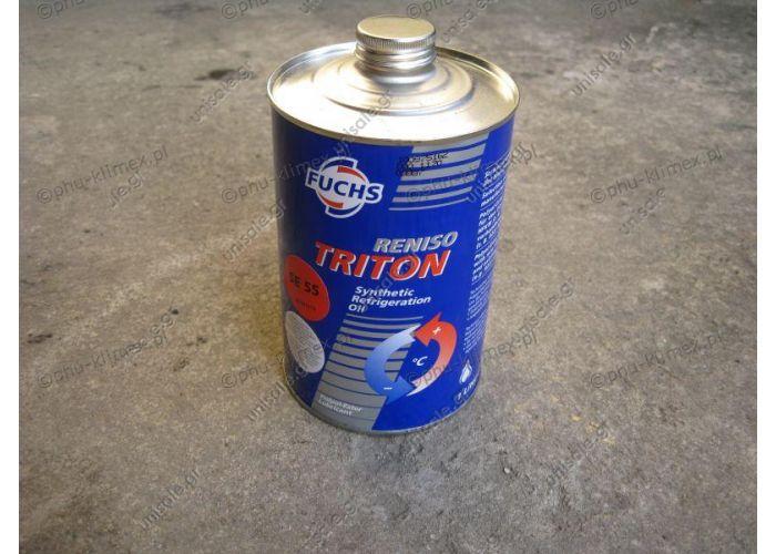 SE55 ΛΑΔΙ BOCK ΣΥΜΠΙΕΣΤΗ RENİSO TRITON SE 55 POE   Compressor oil RENISO TRITON Fuchs Reniso Triton SE 55 BOCK and BITZER R 134a