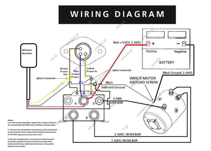 Warn 1700 Winch Wiring Diagram Wiring Diagram Fuse Box
