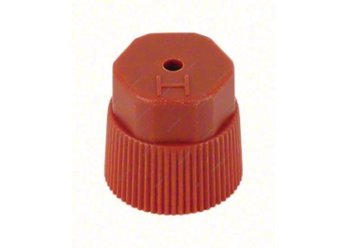 ΑΝΤΑΛΛΑΚΤΙΚΟ ΚΑΠΑΚΙ ADAPTOR 58.50006 CAP, SERVICE VALVE, R134A,RED, DISCHARGE FITTING PACK OF 6