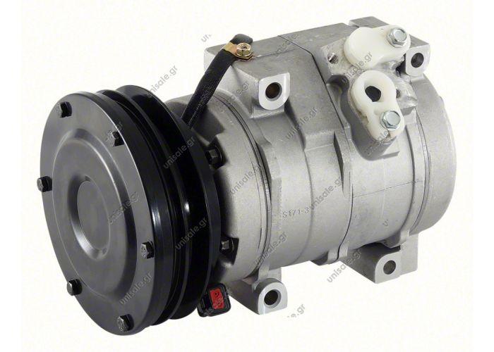 40440174  ΣΥΜΙΕΣΤΗΣ KOMATSU (DENSO 10S15C)  DENSO DCP99821,DCP99822  4472204053   Compressor, air conditioning   OE: 20Y8101260 - 20Y9796120 - 20Y9796121 - 4436025 - X4436025   CATERPILLAR Komatsu Kobelco  John Deere 450CLC EXCAVATOR A/C Compressor