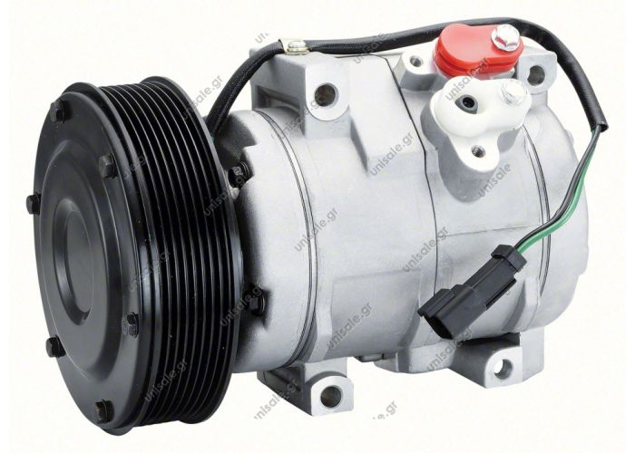 40440124 ΣΥΜΠΙΕΣΤΗΣ CATERPILLAR DENSO TYPE 10S17C Compressor 8 GR 24V (1401027-1)  Caterpillar 1785545  Various models CATERPILLAR 1785545, Compressor, air conditioning   DENSO	DCP99802	Compressor, air conditioning