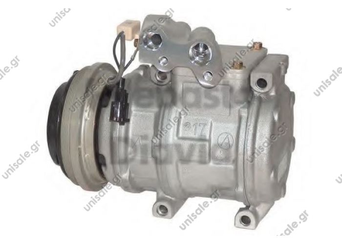 40440105 CHRYSLER 447100-6290 (4471006290) Compressor, air conditioning  JEEP: 55036412     Voyager II Serie 2.5 TD/CRD 01 92->09 95 Compressor Type Denso 10PA17C 447100-6290     4677445 - 4746858 - 55035993 - 55035993A - 55035993AB - 55036412