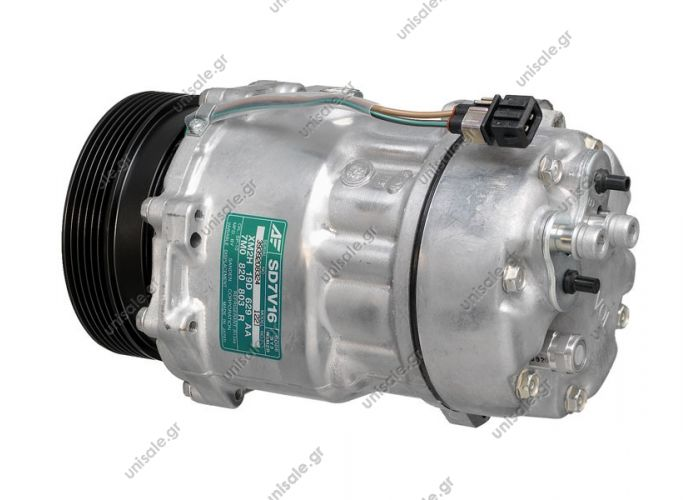 40430264 VW  1J0-820-803L   40405094CP VW Golf IV Serie Compressor Sanden variable SD7V16      OE: 1076012 - 1080 - 1111419 - 1206 - 1215 - 1221 - 1226 - 1231 - 1233 - 1245 - 1278 - 1283 - 1J00820803A