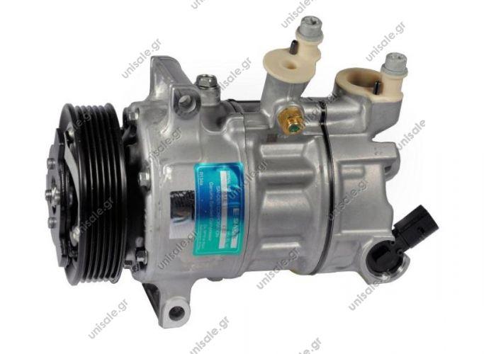 5N0820803  Compressor Sanden variable PXE14 AUDI : 5N0820803 SEAT : 5N0820803 SKODA : 5N0820803 VOLKSWAGEN : 5N0820803