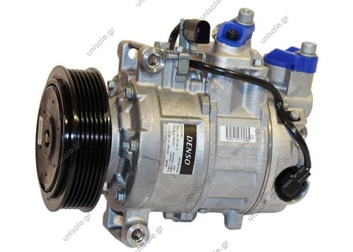 40440163   ΣΥΜΠΙΕΣΤΗΣ AUDI B7, A4, L4 ENGINE  ΣΥΜΠΙΕΣΤΗΣ AUDI A4 2003   DENSO DCP02041 ΚΟΜΠΡΕΣΕΡ AUDI A4-SEAT EXEO 1.8T,2.0TSI 05- DENSO  Compressor Denso complete AUDI A4 II Serie 3.0 - 3.0 Quattro OEM 8E0260805AS