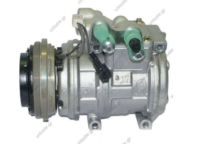 40440105    447100-6290 (4471006290)Compressor A / C Denso 10PA17C; 123.8 mm; PV4; 12V; H; Jeep Cherokee; DCP99004     Compressor, air conditioning    Jeep  Cherokee 2.5 TD  10 95->09 01 4677445 - 4746858 - 55035993 - 55035993A - 55035993AB - 55036412