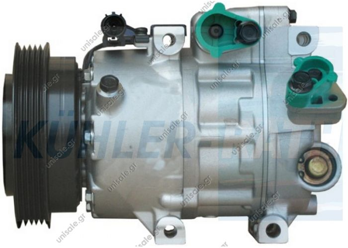 NRF 32467, Compressor, a	977012H240  VISTEON Compressor ID	VS16     HYUNDAI i30 2007-. NRF 32467 can be used in car models  HYUNDAI i30	2007-... i30 CW	2008-... KIA CEE'D Estate	2007-... CEE'D Hatchback	2006-...