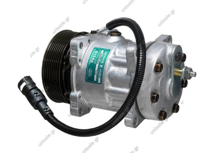 68218 (67218)8120 Compressor A / C Sanden SD7H15; 119 mm; PV8; 24V; H; Daf 95     COMPRESSOR NEW Compressor Sanden Fix R134a SD7H15     DAF : 1387322       Description 95XF, 85CF  OE: 1387322 - 1405137 - 1655564 - 1816774 - 8120 - 8129