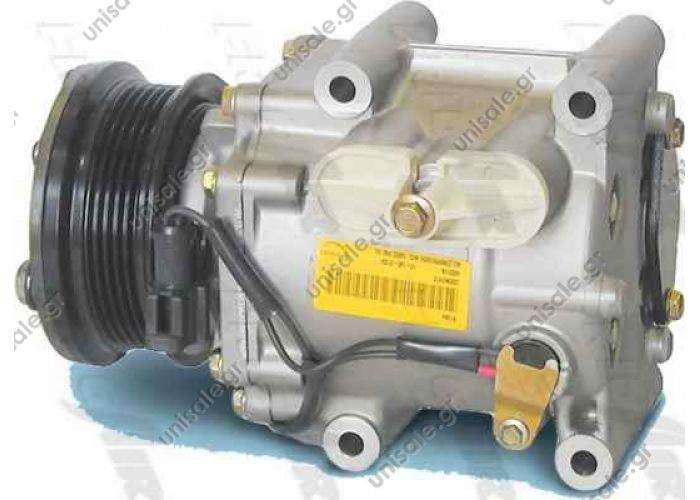 68000003 - FORD / MAZDDA MODEL - FIESTA1.8TD/121 1.8 Compressor VISTEON 1016001004  FORD 1405819 FORD 1E0761450 FORD 1E0761450A FORD 4BYU19D629AA FORD RXS6H19D629AA