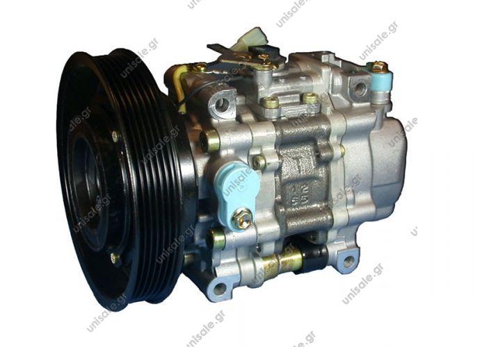 58754 (57754) Compressor Denso complete    ALFA ROMEO / FIAT / LANCIA MODEL - 155/MAREA/BRAVO ALFA ROMEO : 46479556 FIAT : 46479556