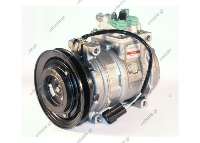 CHRYSLER : 4677040 447100-2430	Compressor A / C Denso 10PA17C; 143 mm; A1; 12V; IN; Chrysler Voyager / Grand Chrysler Voyager / Grand 2.5; 94-95; OE: 4677040-E ...