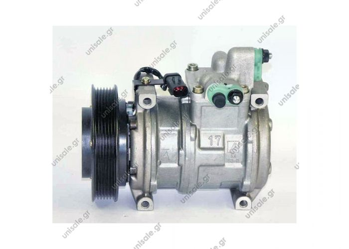 CHRYSLER : 4677205L 447180-3920	Compressor A / C Denso 10PA17C; 135 mm; PV6; 12V; H; ND8; Chrysler Voyager; Dodge / Caravan; DCP06003 Chrysler Voyager 2.4, 96-00; Dodge / Caravan 2.4, 96-00, w / o rear A / C OE 4677205L ...