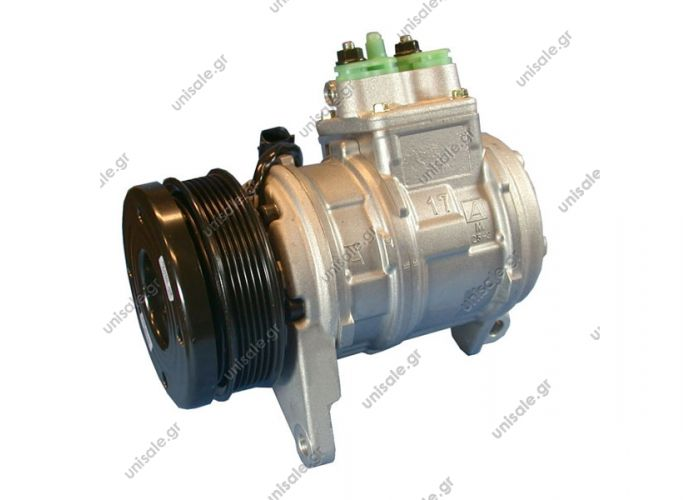 CHRYSLER : 4677144 CHRYSLER VOYAGER 447100-6610	Compressor A / C Denso 10PA17J; 125 mm; PV6; 12V; V45 °; Chrysler Voyager; Grand Voyager; DCP06006 Chrysler Voyager / Grand 3.3 / 3.8; 96-00; w / o rear A / C OE ... 4677144ABE