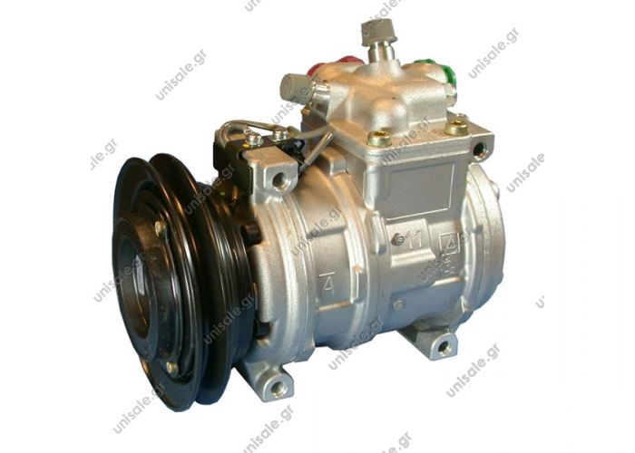 CHRYSLER : 4758452, 4758452-A  447100-7070 Compressor A / C Denso 10PA17C; 143.3 mm; A1; 12V; H; Chrysler Concorde; New Yorker
